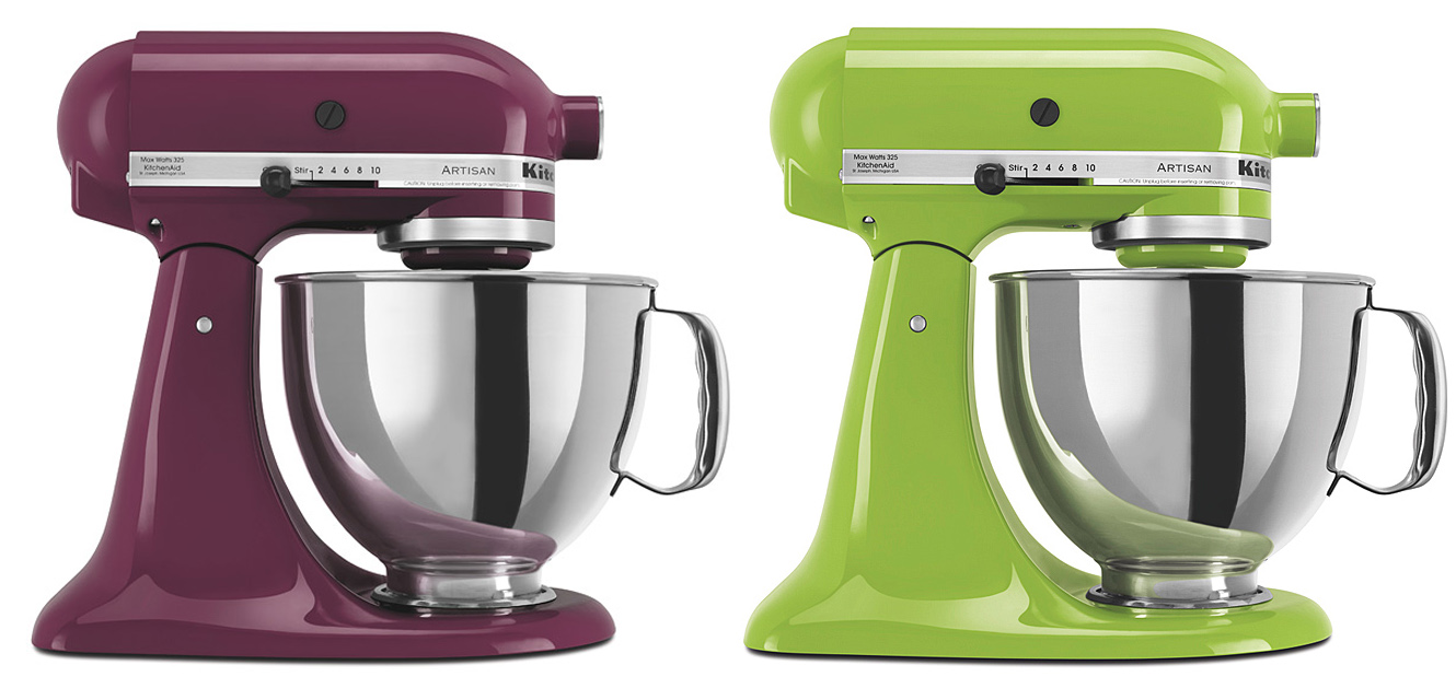 Uncategorized Kitchen Appliances Mixers color huesday pretty appliances designer droppings retro kitchens are really popular and the style allows you to get bold with instead of stainless steel refrigerator