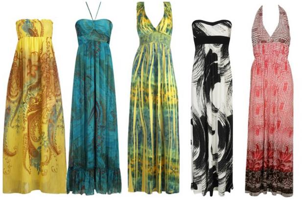 trend watch: maxi dress