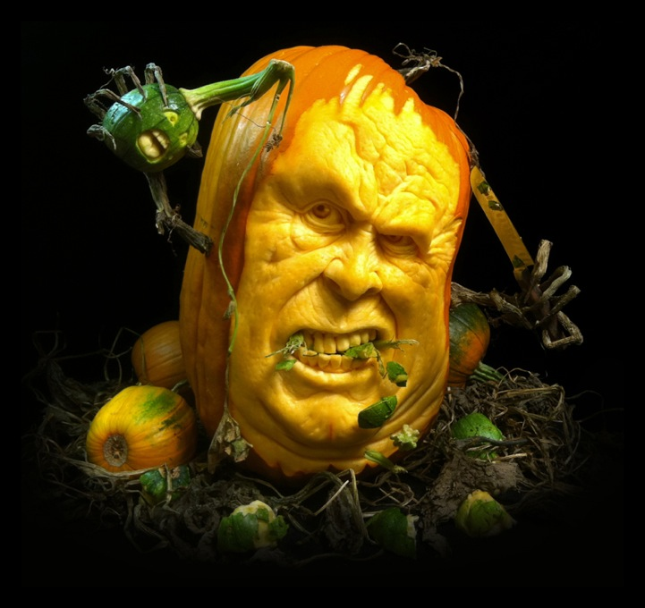 Happy halloween best pumpkin carvings designer droppings