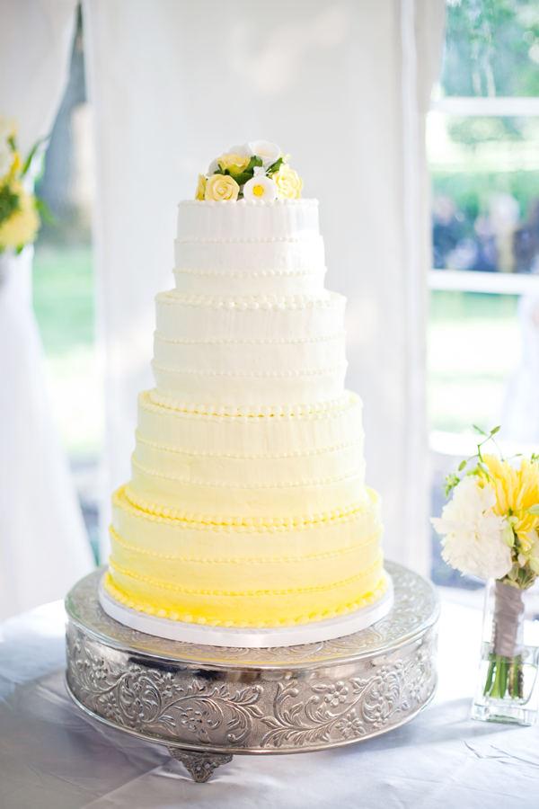 huesday: ombre wedding cakes   Simon and Kabuki