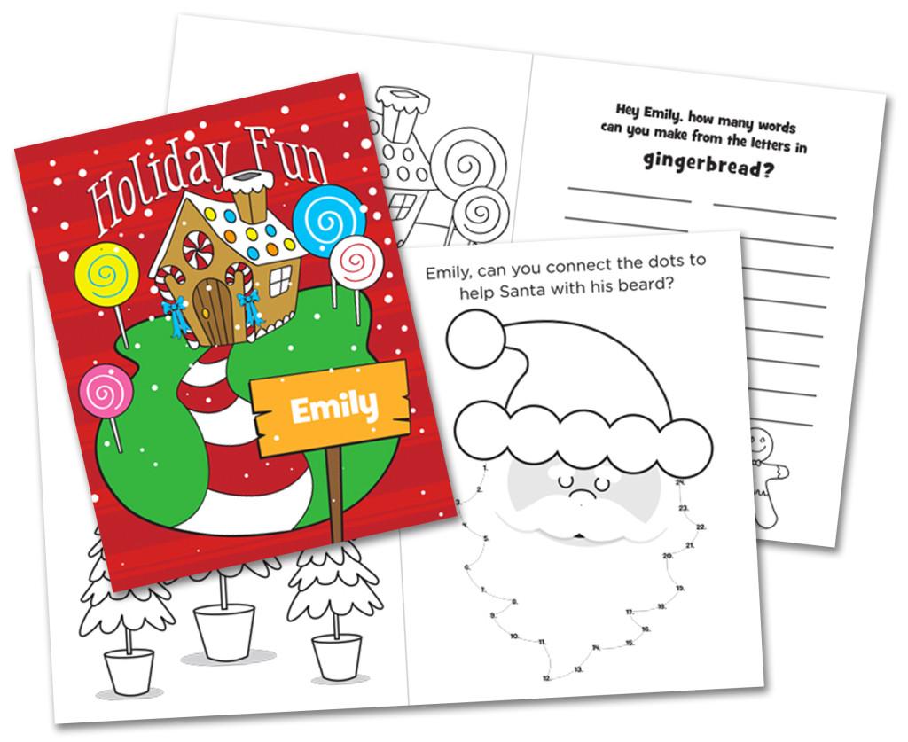 HolidayColoringBook