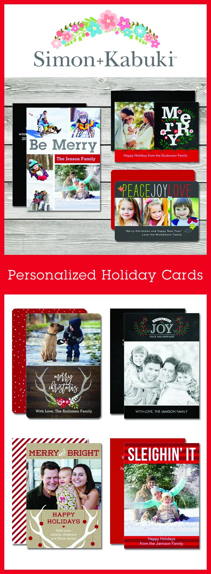 New Simon+Kabuki Holiday Photo Cards